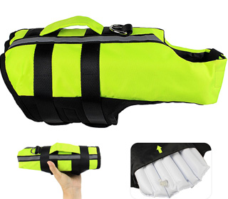 Featured Best Inflatable Dog Life Jacket
