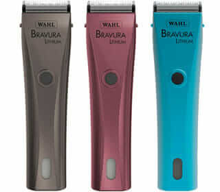 The Wahl Bravura Cordless Dog Clippers