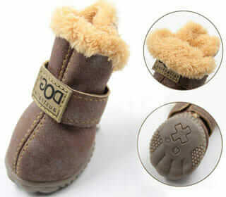 WINSOON Dog Australia Sheepskin Slippers