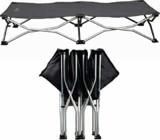 Best Elevated Folding Dog Travel Cot Featured