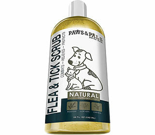 Paws Pals Flea and Tick Shampoo