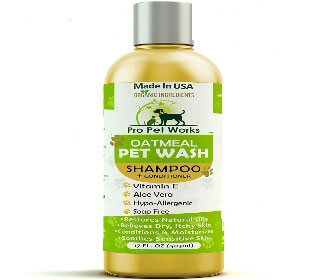 Featured Best Oatmeal Dog Shampoo